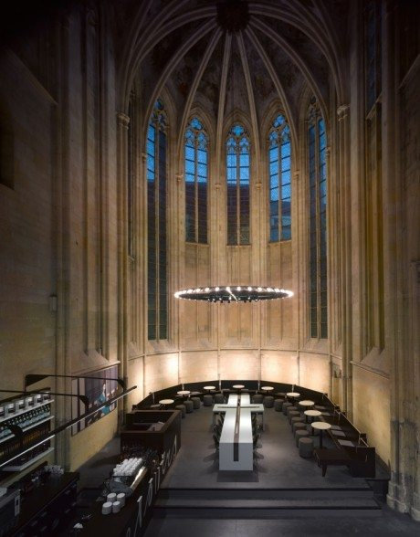 13th Century Church Converted to Modern Day Library