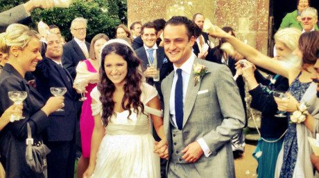 babington house weding
